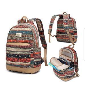 Handbags - New Bohemian  Waterproof w/USB Charging Port BP